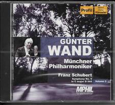 CD Günter mur 'Vol. 3-Schubert-Symphonie 9 in C major d944` Nouveau/Neuf dans sa boîte originale
