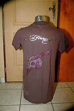 T-shirt polo dagger skull ED HARDY audigier T XXL NEW LABEL val
