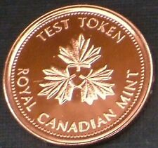 2004-2006 Canada 1 cent Test Token, Multi-Ply Plated Steel , Cello Sealed
