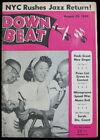 Down Beat Jazz Magazine _ Aug 1949 - Dizzy Gillespie Sarah Vaughan Count Basie