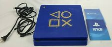 Sony PlayStation 4 SLIM 1TB Console - Days of Play Blue System Bundle PS4