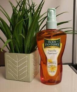 1 Body Fantasies Vanilla Fantasy 8oz By Parfums De Coeur RARE!FREE SHIP CL