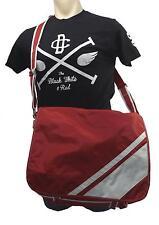 New Soren Laptop University School Gym Travel Messenger Bag Utah Red White Large