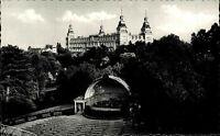 BAD WILDUNGEN Hessen AK alte s/w Postkarte ungelaufen ~1950/60 Blick Fürstenhof