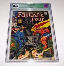 Fantastic Four # 80 - 1968 Marvel Silver Age Issue - CGC VF+ 8.5 (Q)