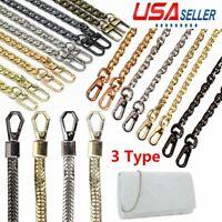 Bag Replacement Chain Metal Purse Strap Handle Shoulder Handbag Crossbody 120CM