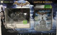 XBOX 360 BATMAN ARKHAM ASYLUM GAME Battle Bundle W/ BATARANG CONTROLLER NEW