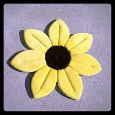 Sunflower soft bath mat yellow