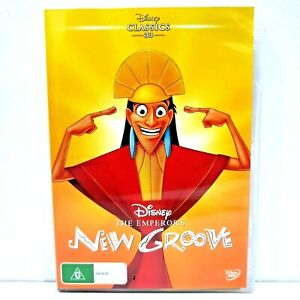 The Emperor's New Groove (DVD, Region 4, 2004)