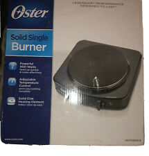Oster Portable Single Burner Adjustable Temp Control 900Watts CKSTSB100-B NEW