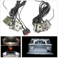 27 Feet Waterproof 8 Pcs 48LED SMD White Car Truck Bed Lighting Lights Neon Lamp