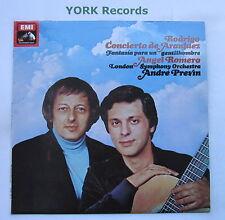 ASD 3415 - RODRIGO - Concierto de Aranjuez ROMERO / PREVIN LSO - Ex LP Record
