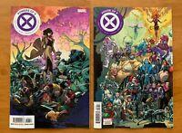POWERS OF X #6 Silva Main + Garron Connecting Var Marvel 2019 NM+