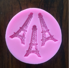 PARIS FRANCE EIFFEL TOWER SILICONE FONDANT CHOCOLATE CANDY MOLD
