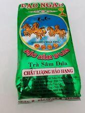 Tra Sam Dua Danh Bao Ngan Vietnam Pandan Green Tea 70 Gram Dac San B'Lao Bao Loc