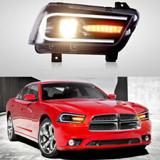 For Dodge Charger 2011-2014 Sequential Turn Indicator LED 2015 Model Headlights