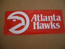 Vintage 1980s Atlanta Hawks Official NBA Basketball Bumper Sticker-RARE!