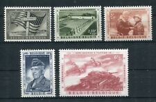 Bélgica 1077/81 post fresco/militar... 2/521