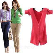 Damen-Pullover mit mittlerer Strickart V-Ausschnitt in Größe 38