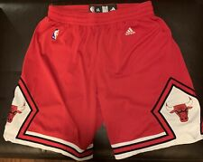 🔥Authentic Chicago Bulls XL Game Shorts! Adidas! Last Dance! Air Jordan Pippen