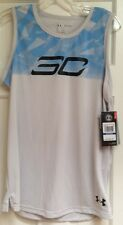 NWT UNDER ARMOUR BOYS GRAY SLEEVELESS TOP T-SHIRT 1290036 SIZE X/LARGE $29.99