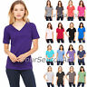 Bella + Canvas - Women's Relaxed Short Sleeve Jersey V-Neck Tee - 6405