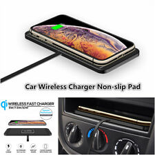 5W/7.5W/10W Car Wireless Charger Pad Fast Charging Dock Non-slip Mat Universal