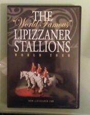 THE WORLD FAMOUS LIPIZZANER STALLIONS WORLD TOUR   DVD