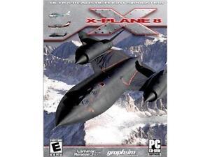 X-plane 8 da collezione  versione cartonato pc gioco game ita
