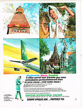 PUBLICITE  1967   PAKISTAN INTERNATIONAL AIRLINES    compagnie aérienne