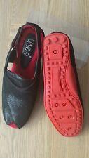 Women's  UNZE LONDON open toe leather  shoes black color  size UK 7 BNWOB