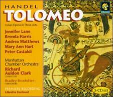 ~DAMAGED ARTWORK CD George Frideric Handel, Richard : Handel - Tolomeo / J. Lane