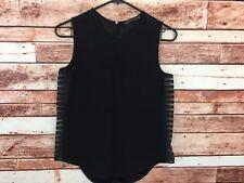 Zara Woman Black Sleeveless Top Size 5 (K9)