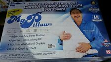 """My Pillow""  Queen Medium, Bedding, Customer Return As Seen On TV, Exelent"