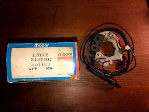 NOS Mopar 1970 Chrysler 300 Hurst New Yorker Newport Imperial Turn Signal Switch