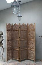 More details for vintage room screen divider bohemian   large heavy 6ft x 7ft  delivery available