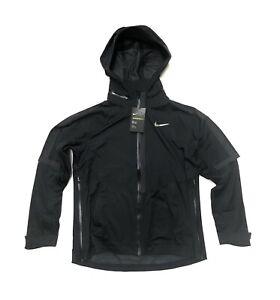 Women's Nike AeroShield Running Rain Jacket 855498 010 Size Large L NWT $350
