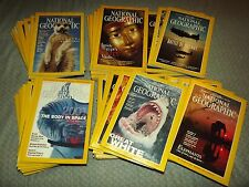 NATIONAL GEOGRAPHIC MAGAZINE ISSUES 1972-2006 PICK ANY 10 FOR $18.25 YOU CHOOSE