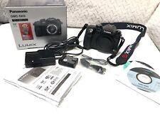 New listing Panasonic Lumix Gh3 Dmc-Gh3 Camera Body, Cap, Charger & Battery. Great shape
