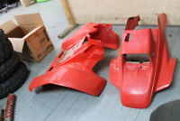 1988 HONDA FOURTRAX TRX250R TRX 250R FRONT REAR BACK FAIRING FENDERS COWLS