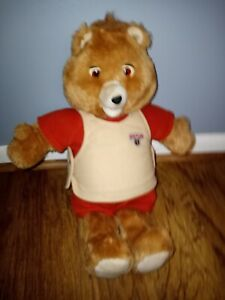 Vintage 1985 Teddy Ruxpin Talking Bear Great Condition!