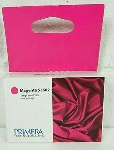 Primera 53602 Magenta Ink Cartridge for Primera Bravo 4100 Series Printers Nice