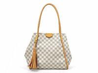 Auth Louis Vuitton Damier Azur Propriano Shoulder Bag *USED* - 98298