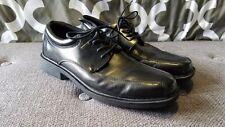 VGUC Men's Nunn Bush Black Jasen 84221 Comfort Gel Dress Shoes Size 9.5