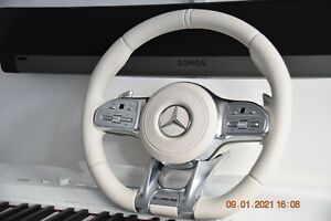 Original Mercedes-benz AMG Steering With Module Porcelain Maybach W222 C217 X222