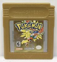 Nintendo Game Boy Color Pokemon Gold Game Only *Authentic* *New Save Battery*