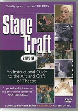 STAGE CRAFT AN INSTRUCTIONAL GUIDE TO THE ART & CRAFT OF THEATRE DVD