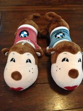 Lot of 2 BMW Stuffed Animals Soft Plush Toys Monkey Shirt Made in GERMANY