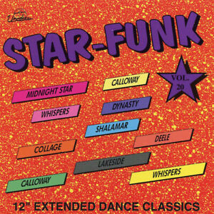 """V/A – Star-Funk Volume 20  New cd  Canada import.  12"""" Extended Dance Classics."""