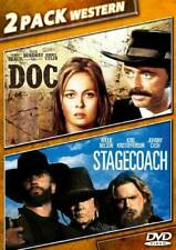 Doc & Stagecoach - DVD - GOOD